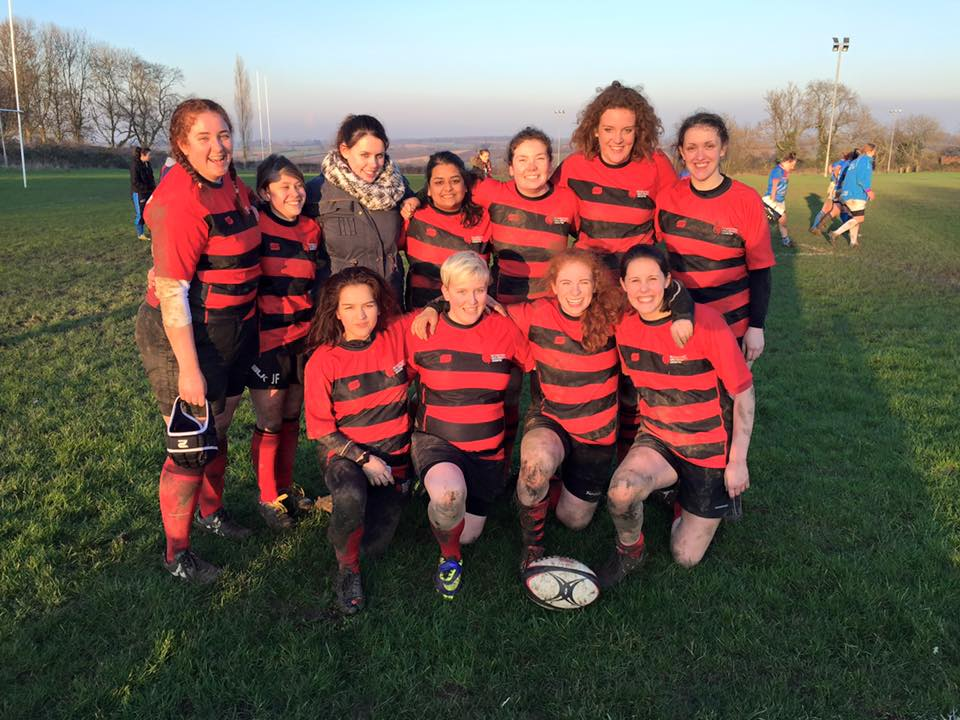 DMU Women's Rugby hold on for first win of the season