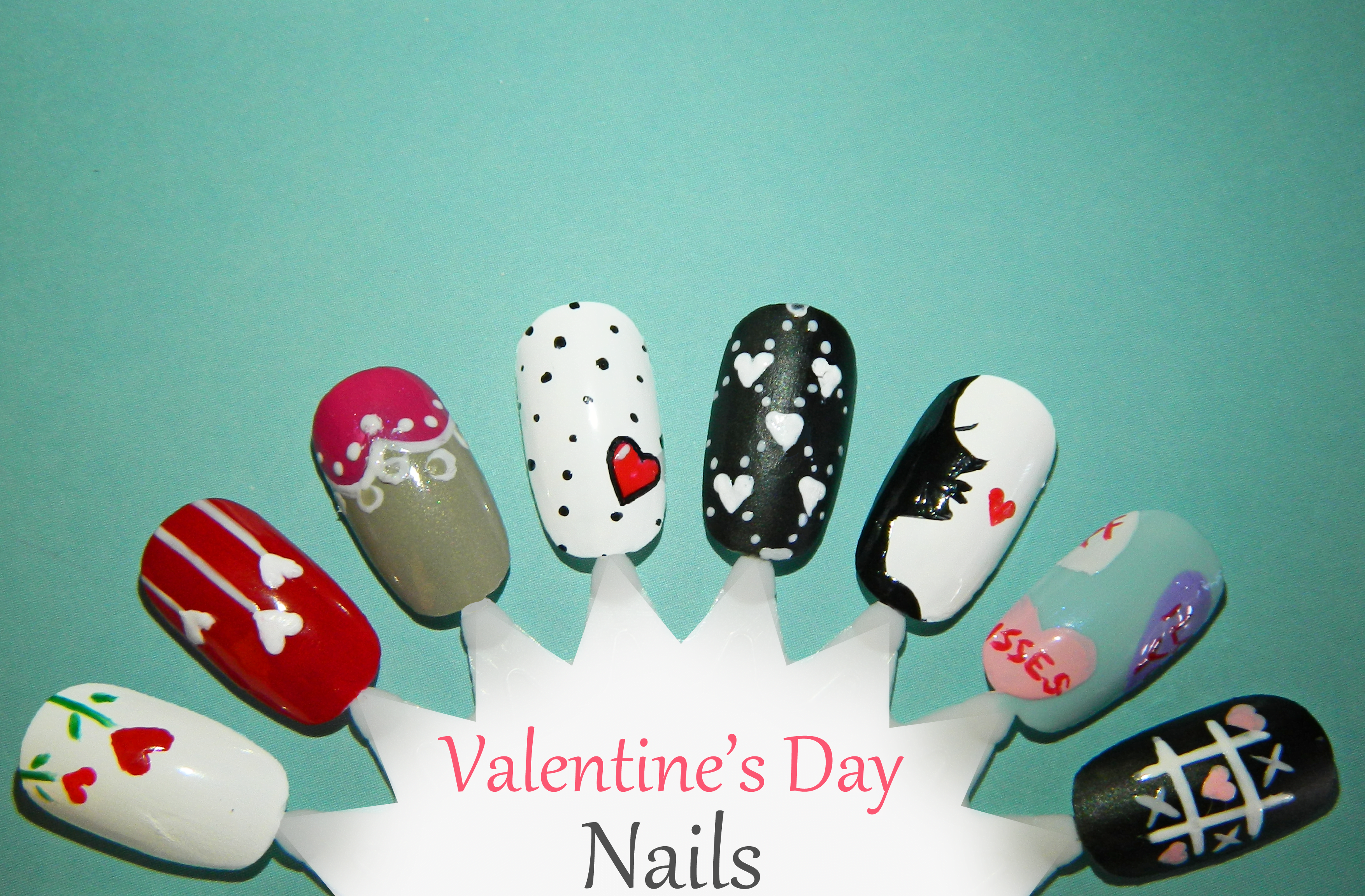 Those V-Day Nails