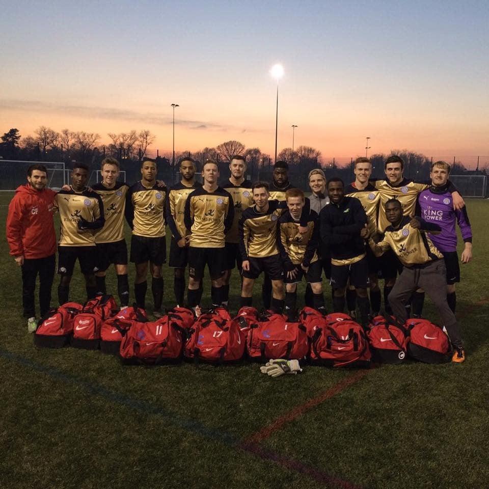 DMU Men's Football First XI crowned BUCS league champions