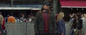 Sebastian Stan as Bucky Barnes, a brainwashed friend of Steve Rogers.