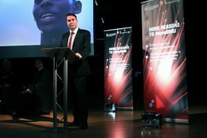 DMU's Vice-Chancellor, Professor Dominic Shellard