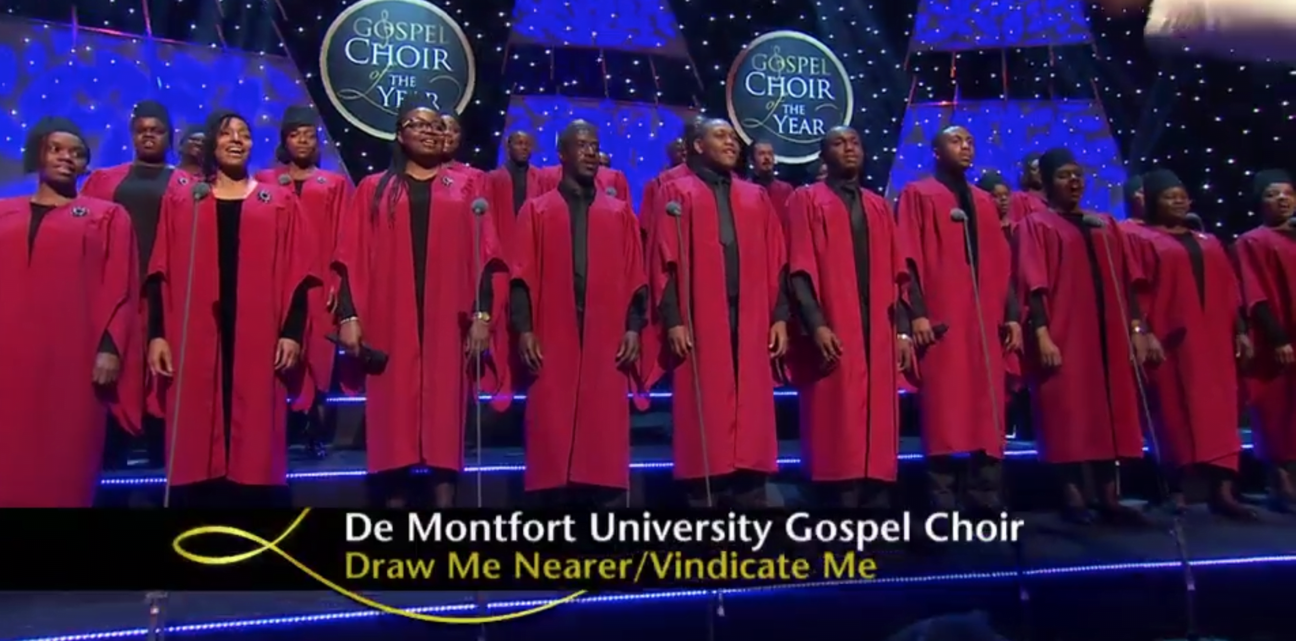 Gospel Choir Take to the Stage on Songs of Praise