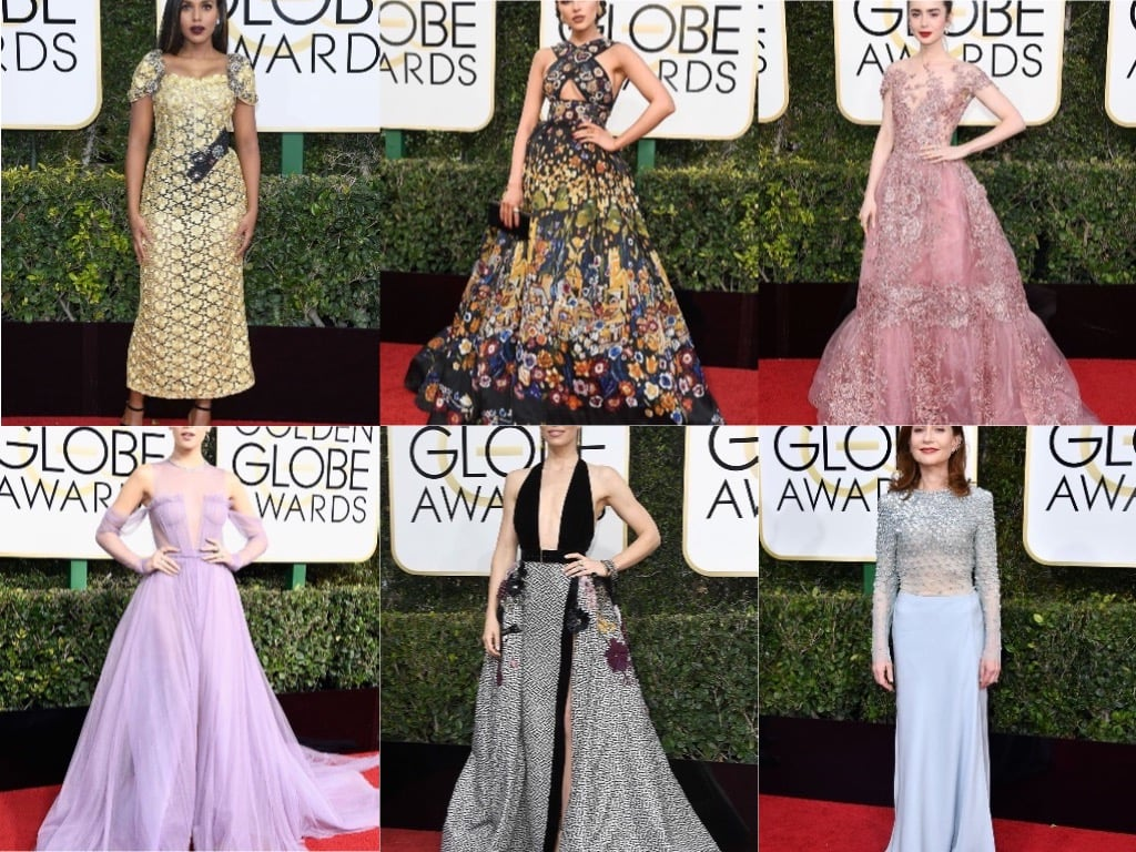 Golden Globes 2017: Our Best Dressed