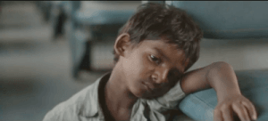 The talented young Saroo (Sunny Pawer) stuns as a newcomer