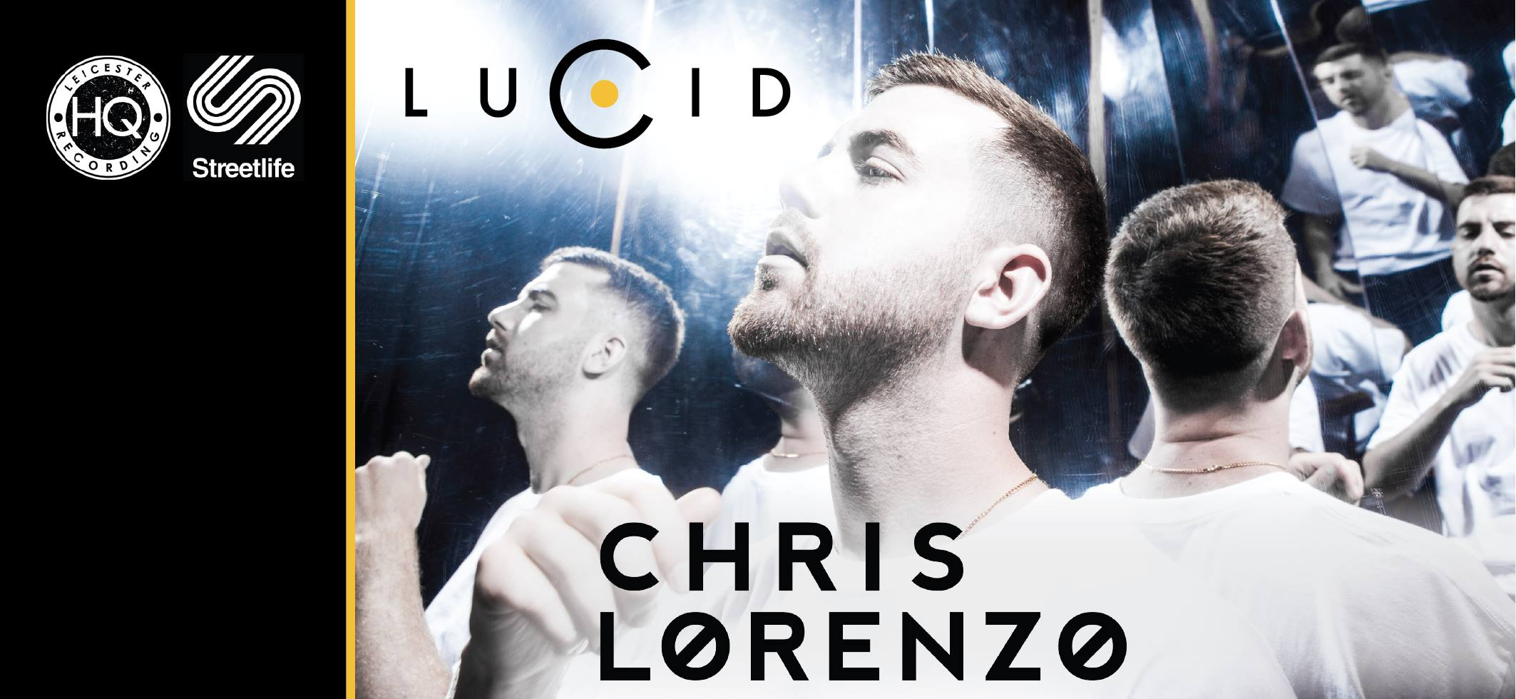 Chris Lorenzo set to headline Leicester's Streetlife in March
