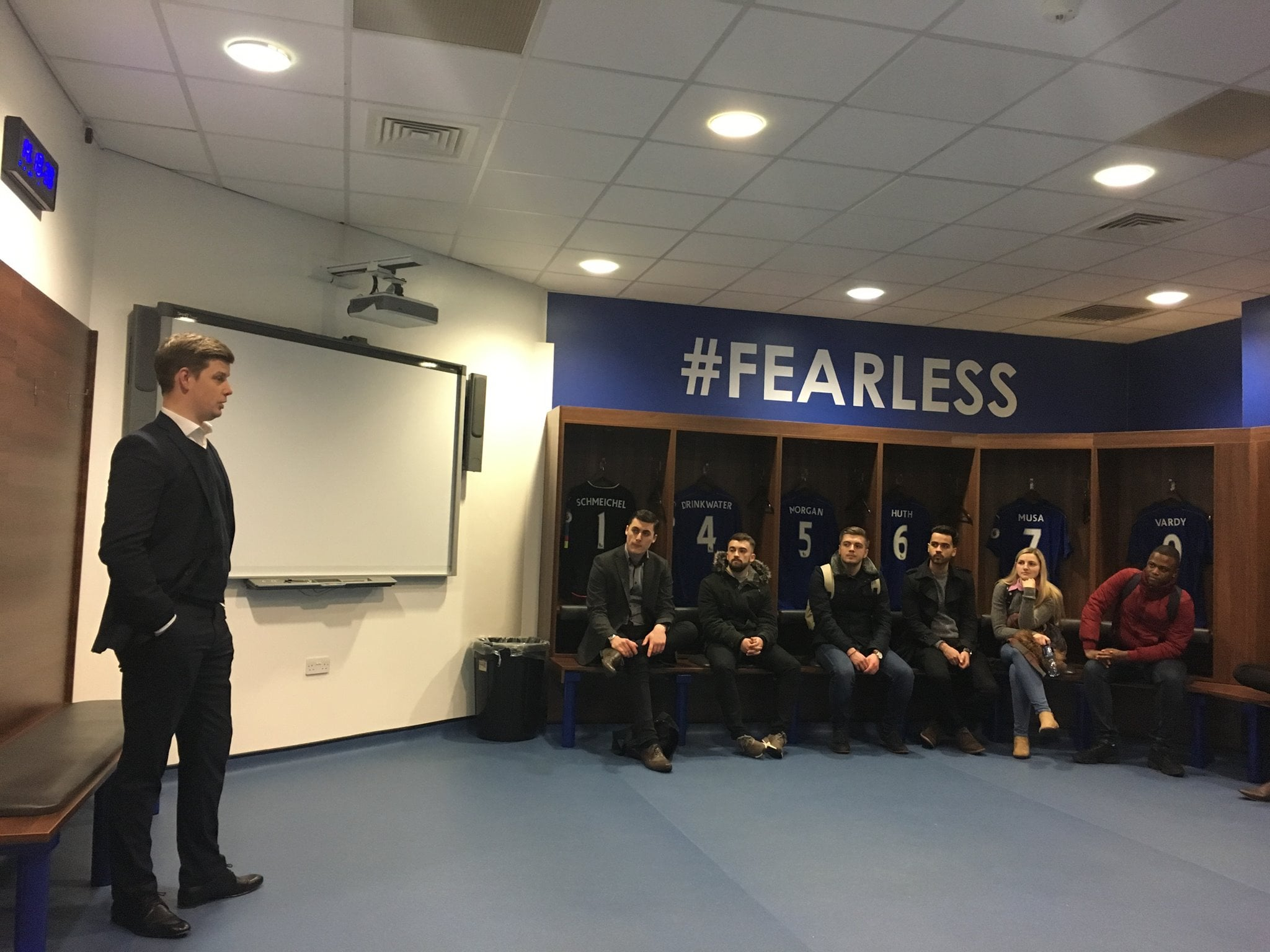 DMU's Sport Journalism students receive access all areas tours of the biggest clubs within Leicester