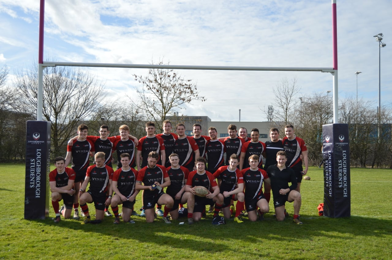 DMU men's rugby win Midlands Cup Final against Northampton