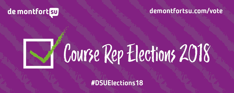 Student Representative Elections, 2018