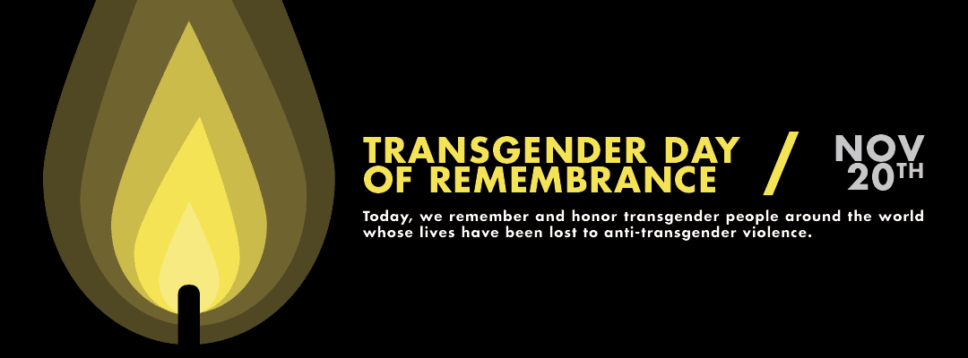 Transgender Day of Remembrance 2018