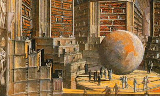 'The Library Of Babel' – Nonsense Is Pretty Entertaining