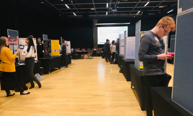 Final year students showcase research during Poster Show & Leavers Event
