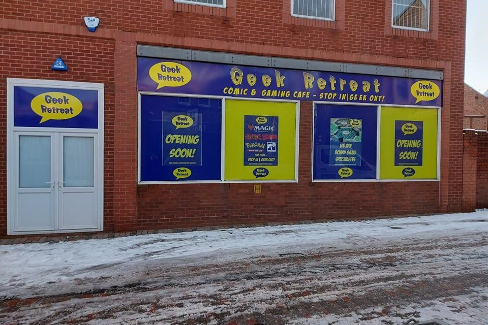 Geek Retreat: A New Store Coming to Treat Leicester