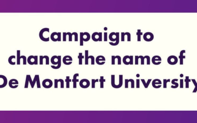 Does the De Montfort name need to go? The DSU holds a debate to discuss the context and possible changes to DMU's name