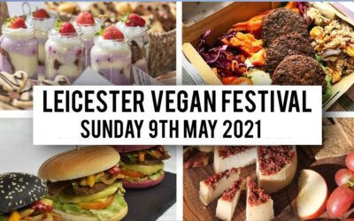 Be Inspired at Leicester Vegan Festival this May